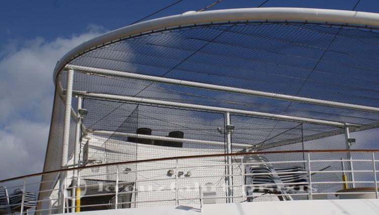 Decksbereich für Ballspiele