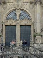 Santiago de Compostella - Kathedrale Tor