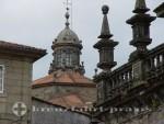 Santiago de Compostella - Kathedrale Dächer