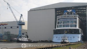 MEYER Werft visitor center - destination for cruise fans