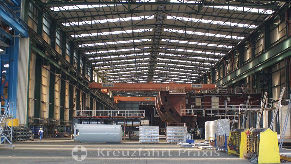 MEYER Werft - Vorfertigungshalle