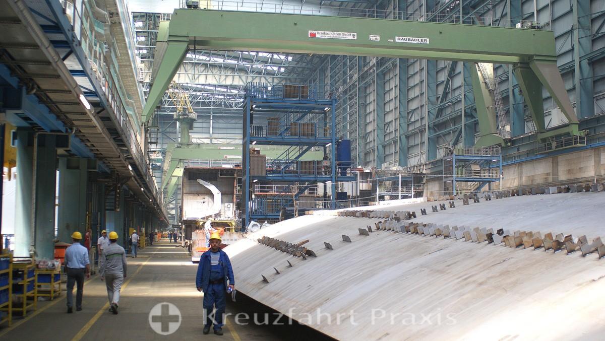 MEYER Werft - Baudockhalle