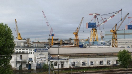 Fincantieri Werft in Mestre