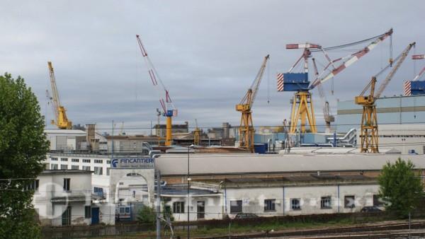 Fincantieri-Werft in Mestre/Venedig
