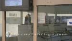 Kontrollzentrum der Brennschneidemaschinen