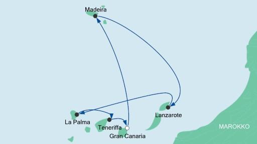 route kanaren 9 aidastella 2015