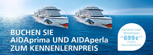 AIDA introductory offer