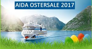 AIDA Osterangebote ⚓ Oster Sale 2017