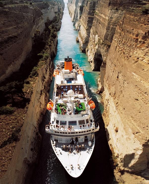 ms bremen kanal von korinth