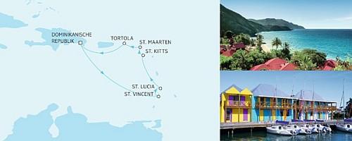 Tui Cruises - Meinschiff  2  - Karibik Kreuzfahrt - Karibik 1