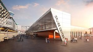 Hafen Hamburg - Kreuzfahrtterminal Steinwerder - Illustration
