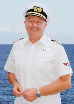 AIDA-Kapitän Dr. Friedhold Hoppert