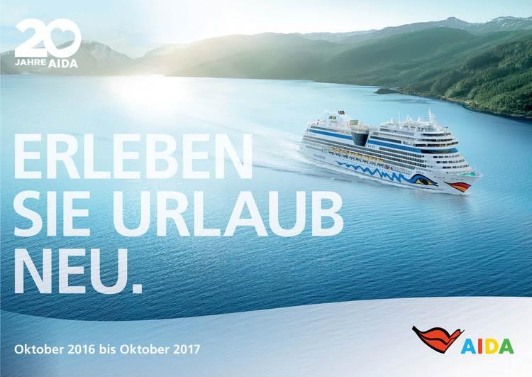 AIDA Cruises - Katalogtitel 2016/2017