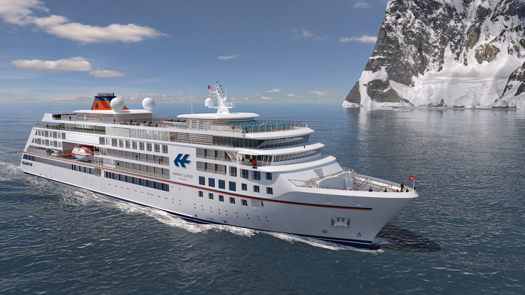 Hapag Lloyd - Neubau eines Expeditions-Kreuzfahrtschiffs