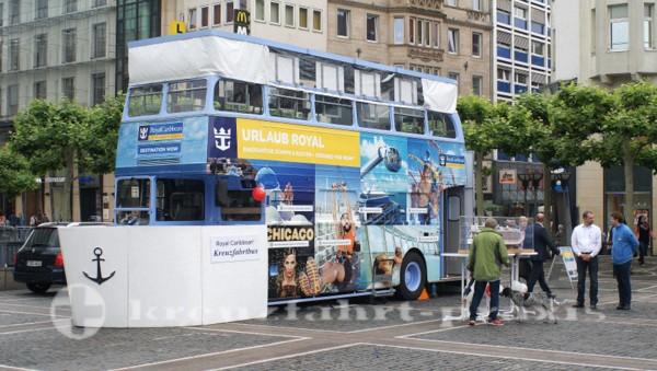 Der Royal Caribbean Kreuzfahrtbus