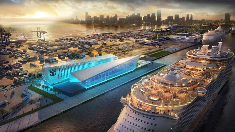 Royal Caribbean Cruise Terminal Miami - Rendering