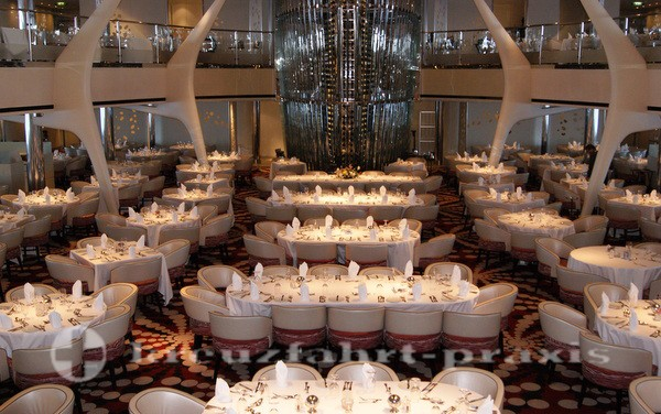 Celebrity Equinox - Silhouette Dining Room