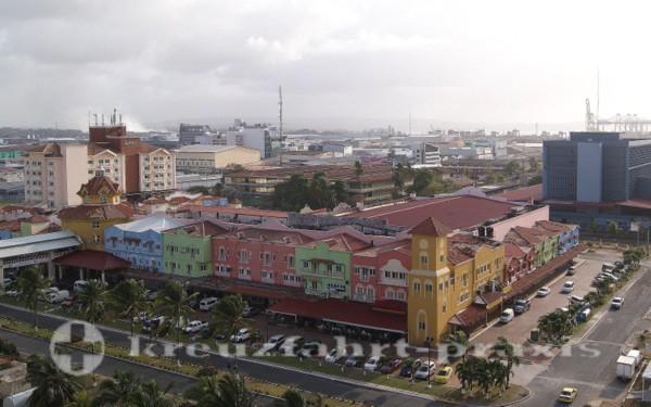 Kreuzfahrtterminal in Colon