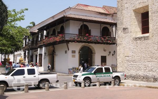 Cartagena - Die Polizei ist präsent
