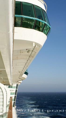 An Bord der Brilliance of the Seas