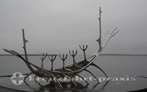 Die Solfar-Skulptur