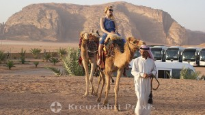 Azamazing Evening - ride on the dromedary