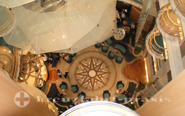 Brilliance of the Seas - view into the center