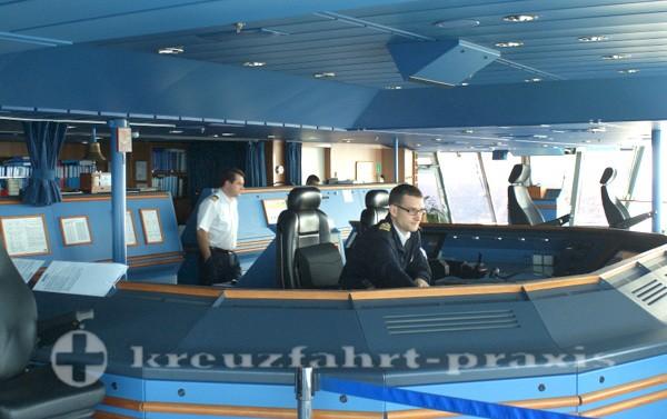 Steuerstand der Brilliance of the Seas