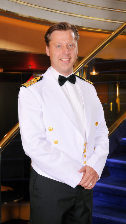 Holland America Line - MS Koningsdam - Captain Emiel de Vries