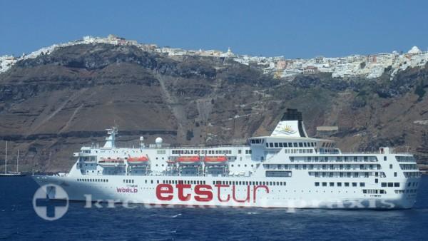 Aegean Paradise vor Santorin