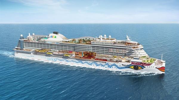 AIDA Cruises - AIDAprima - soll im Oktober in Dienst gehen