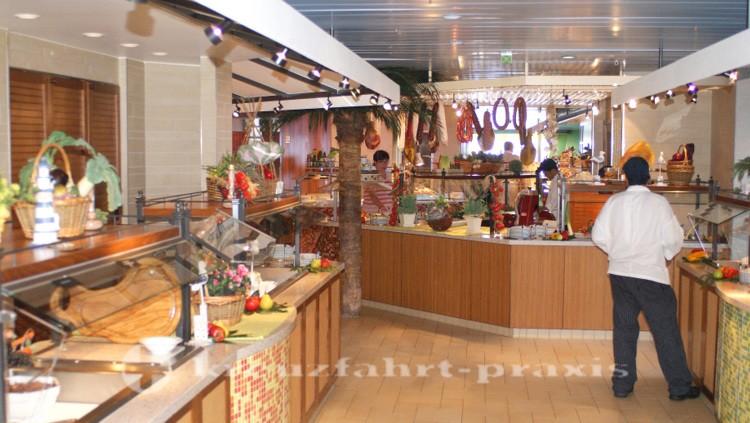 AIDAcara's market restaurant