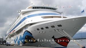 AIDAcara eröffnet die Kieler Kreuzfahrtsaison 2017