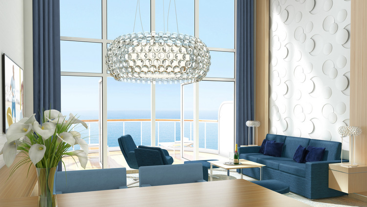 AIDAnova - Penthouse Suite-Rendering