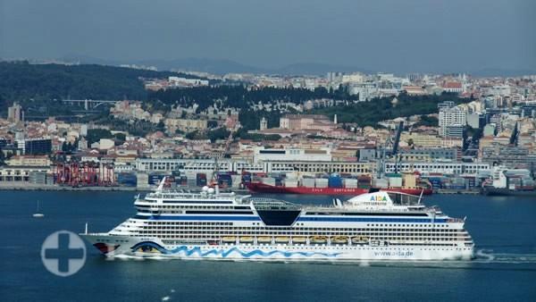 AIDA Cruises - AIDAsol in Lissabon