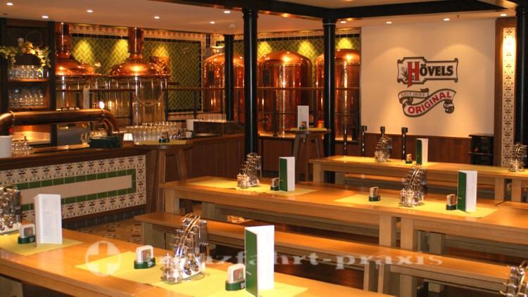 Restaurant Brauhaus presents brewing technology