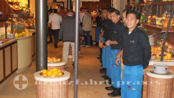 AIDAstella - Market Restaurant Reception