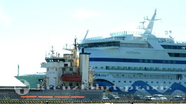 AIDA Cruises - AIDAvita im Hafen von Civitavecchia