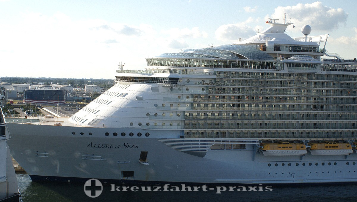 Allure of the Sseas in Port Everglades