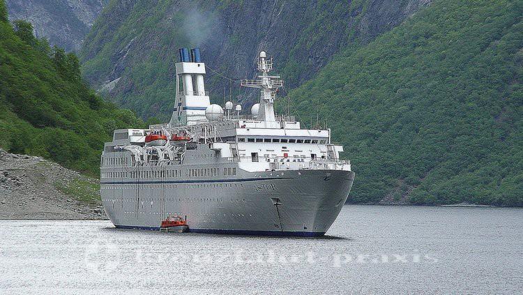 MS ASTOR in Norwegen