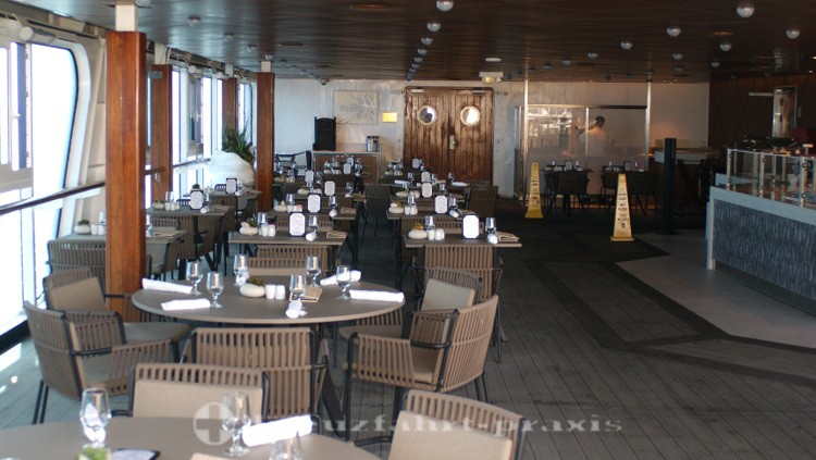 Azamara Quest - The Patio Restaurant