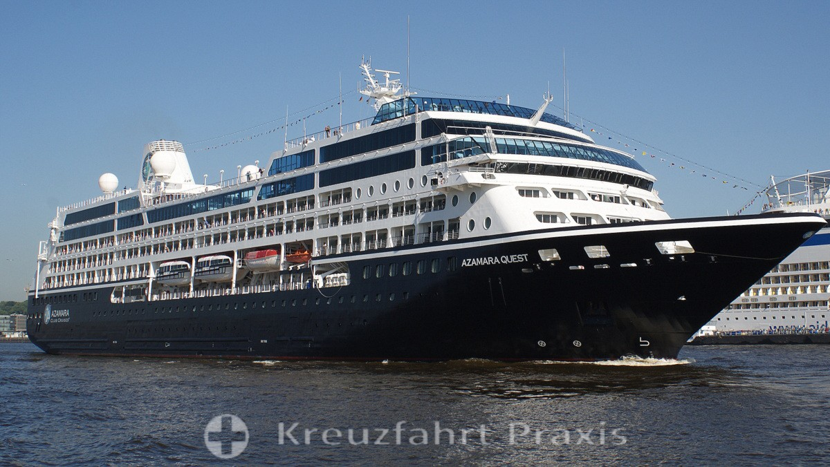Azamara Quest in Hamburg