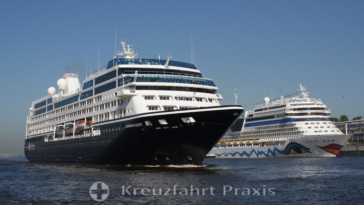 Azamara Quest - a premium class cruise ship