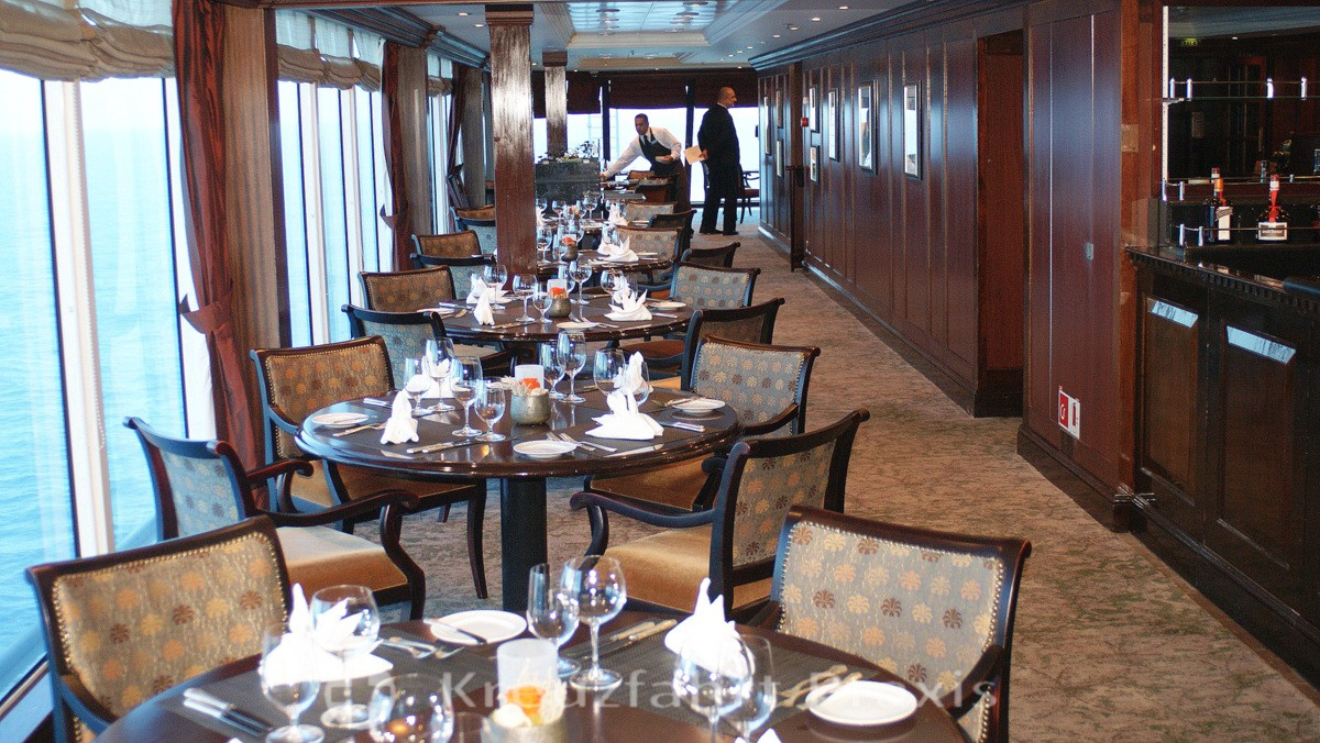 Azamara Quest - Prime C Restaurant - before 2019
