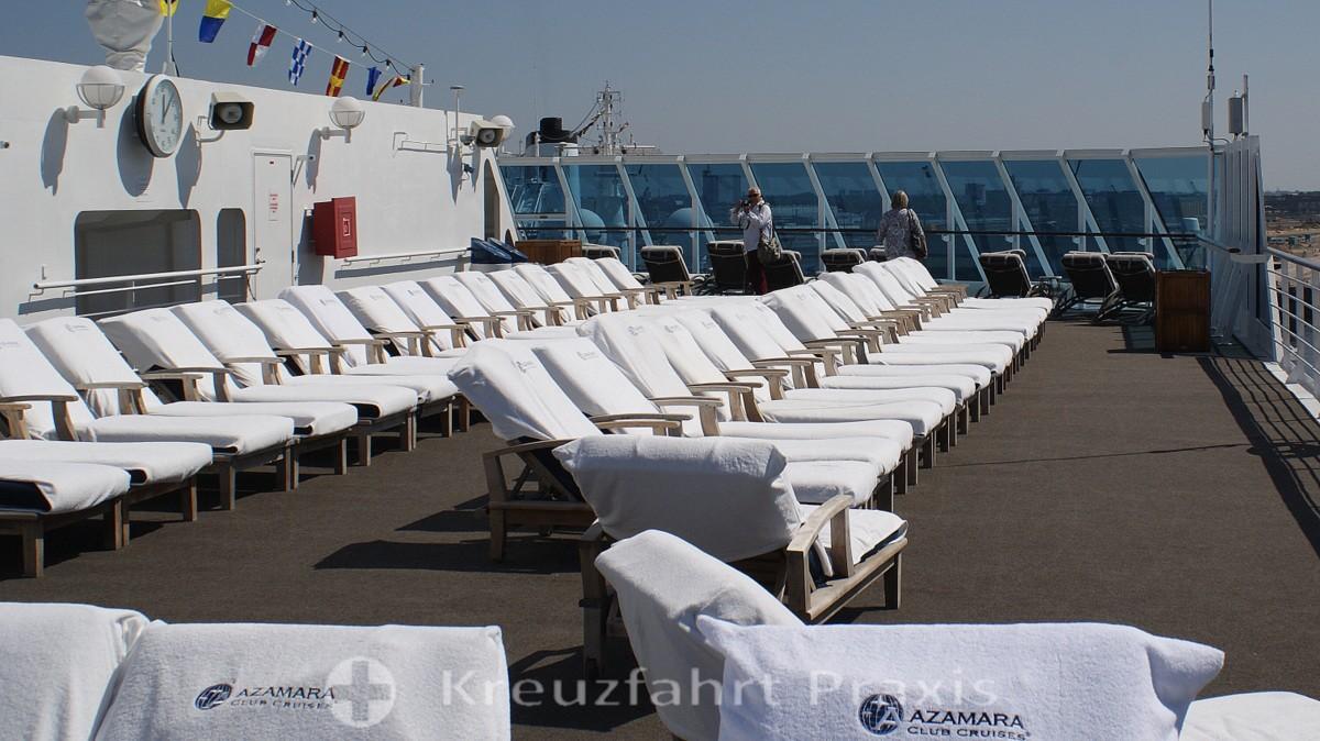Azamara Quest Sun Deck