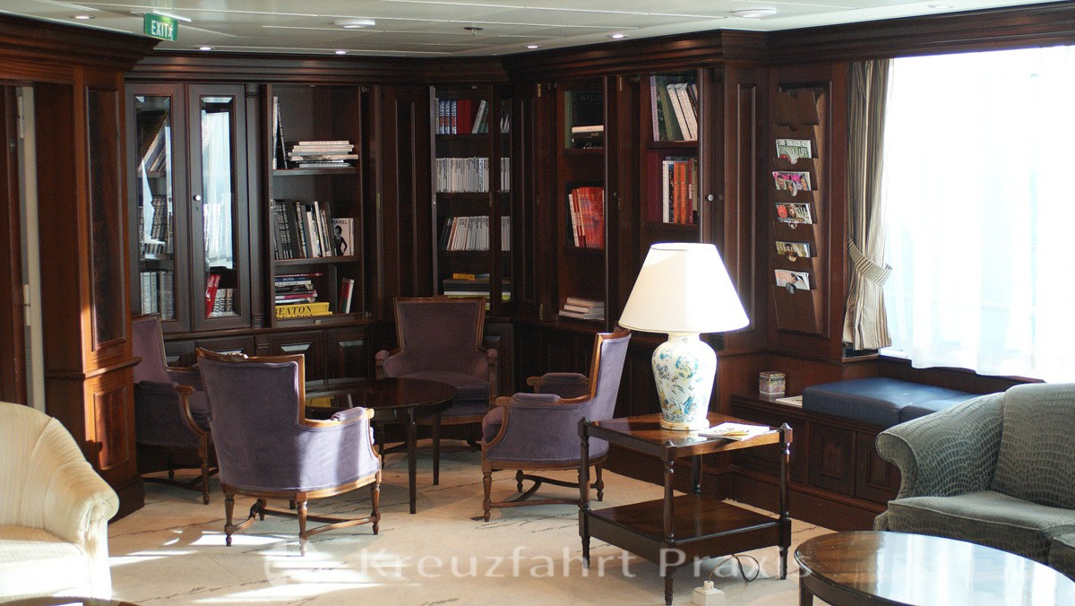 The Drawing Room - the library