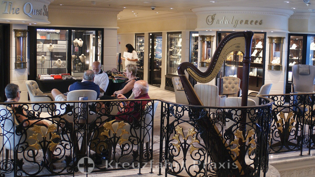 Shop der Azamara Quest