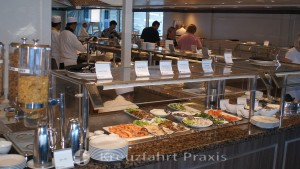 Windows Café buffet restaurant - a selection of smoked fish