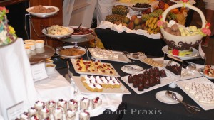 Chocolate buffet for White Night