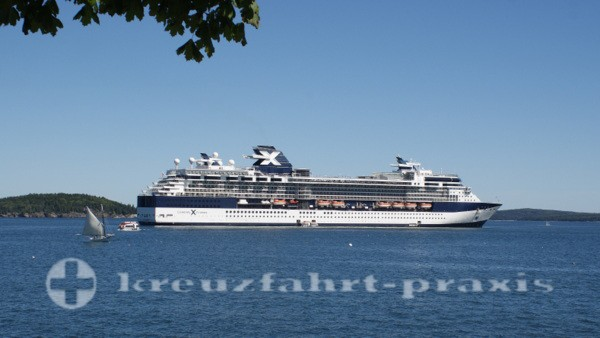 Celebrity Summit - In Bar Harbour/Maine